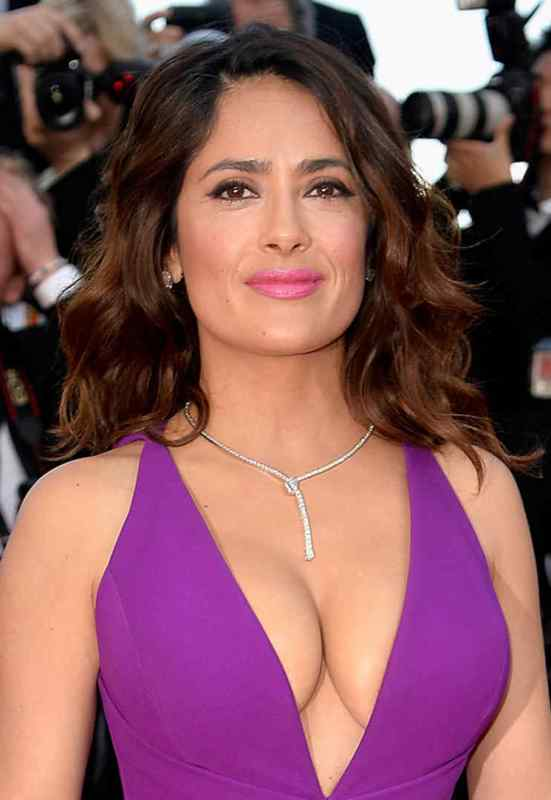 Salma Hayek Diet Plan - Celebrity Sizes