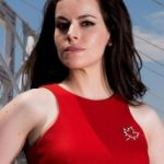 Emily Hampshire Bra Size, Age, Weight, Height, Measurements