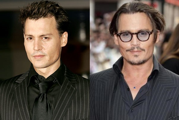 Johnny Depp Plastic Surgery Before And After Celebrity Sizes
