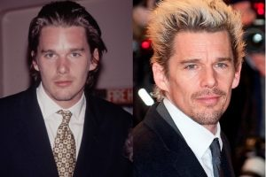 Ethan Hawke Plastic Surgery Before and After - Celebrity Sizes